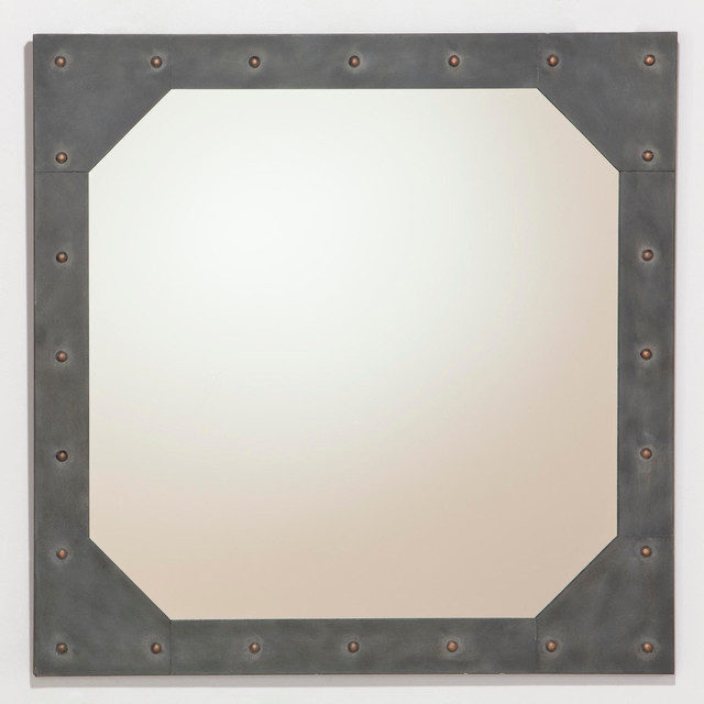 Jace Metal Mirror With Studs Contemporary Wall Mirrors  : contemporary mirrors from www.houzz.com size 640 x 640 jpeg 46kB