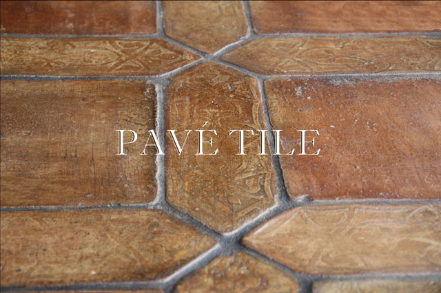 St. Tropez  Antique Terra Cotta Tile Flooring mediterranean floor tiles