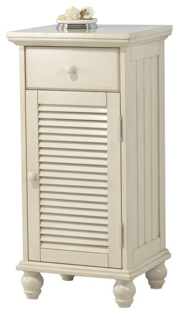 Foremost ctaf1735d cottage floor cabinet in antique white for Bathroom storage cabinets floor