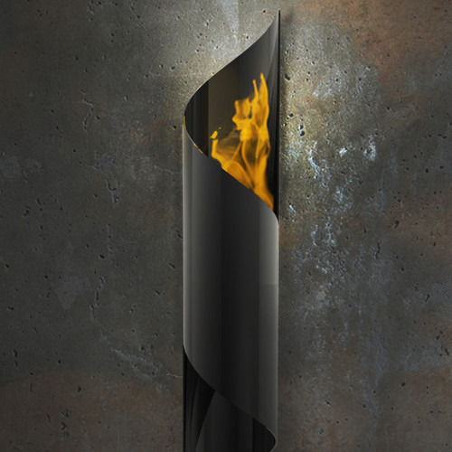 Nuvo Wall Mounted Bio Ethanol Fireplace - Modern - Tiki Torches - by AllModern