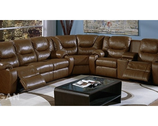 Palliser Dugan Home Theater Sofa Sectional -