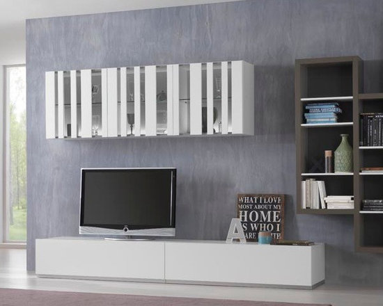 Modern Entertainment Center Spar Exential Y01 - $5,292.00 - Modern Entertainment Center Exential Y01 by Gruppo Spar, Italy.