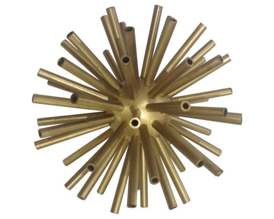 Decorative Brass Sputnik - $285 Est. Retail - $285 on Chairish.com -