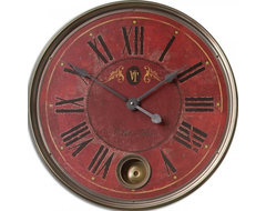www.essentialsinside.com: regency villa tesio wall clock contemporary-wall-clocks