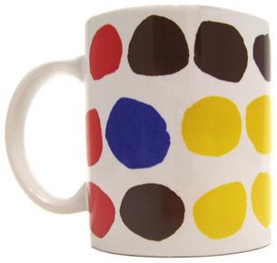 Sister Corita Kent Wonderbread Mug modern-artwork