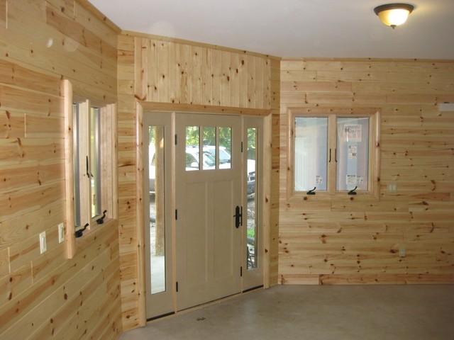 Custom Wood Panel Walls