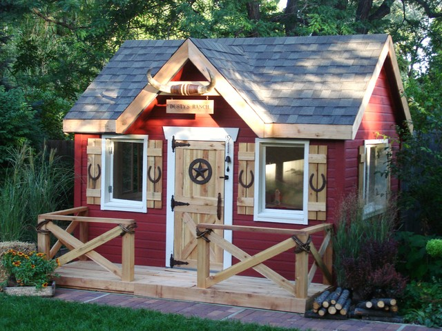 Outdoor Playhouses Toy : Ranch playhouse
