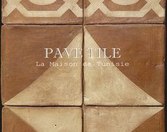 La Maison de Tunisie Terra Cotta Tile Collection ™ eclectic floor tiles