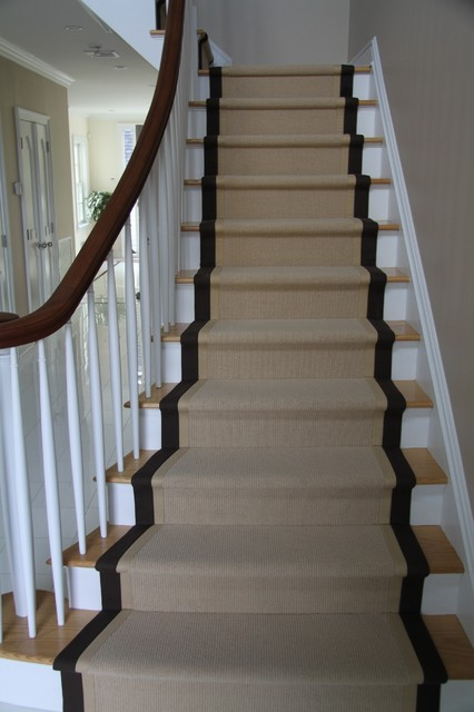 Runners Traditional Staircase New York By Custom Stair