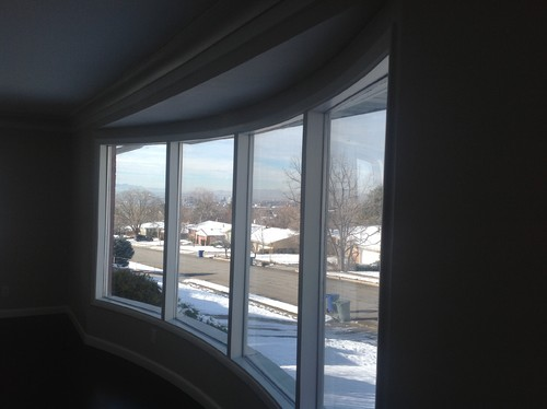 Need Help With Window Treatments For A Large Bow