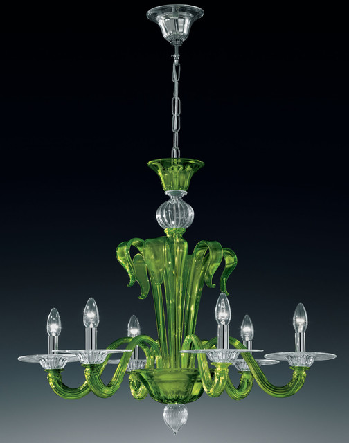 Venezia Collection, Murano glass chandeliers. modern