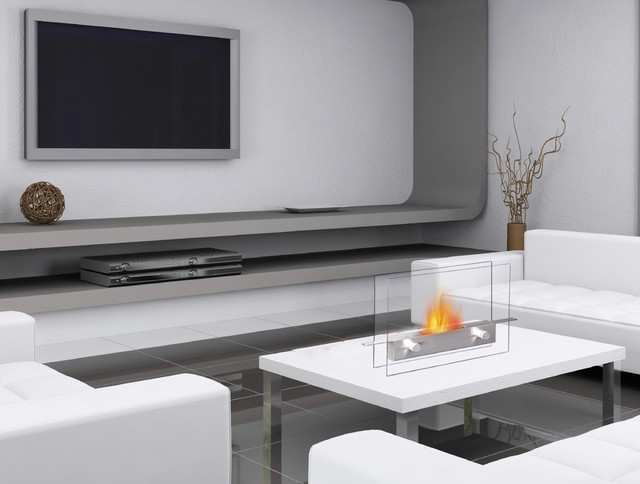 Metropolitan Tabletop Bio Ethanol Fireplace By Anywhere Contemporary Tabletop Fireplaces