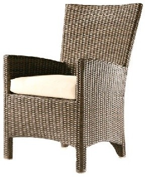 Savannah Woven Armchair Cushion modern outdoor chairs