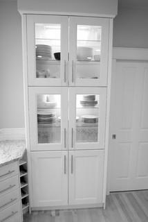 Ikea Ramsjo White Cabinets Amp Wolf Range Contemporary