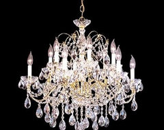 Impact Regalia Collection - REGALT Handcut/Polished modern chandeliers
