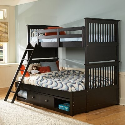 Build-A-Bear Beary Stylish Twin over Full Bunk Bed - Modern - Beds ...
