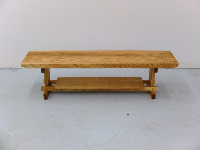 Quercus rubra custom table craftsman-coffee-tables