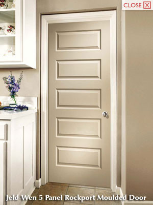 Jeld Wen Rockport 5 Panel Door