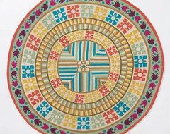 Kiara Round Rug eclectic-rugs
