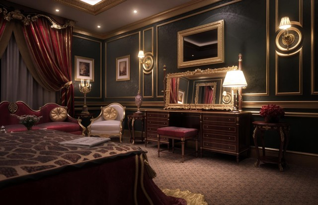VICTORIA Hotel Suite traditional-rendering