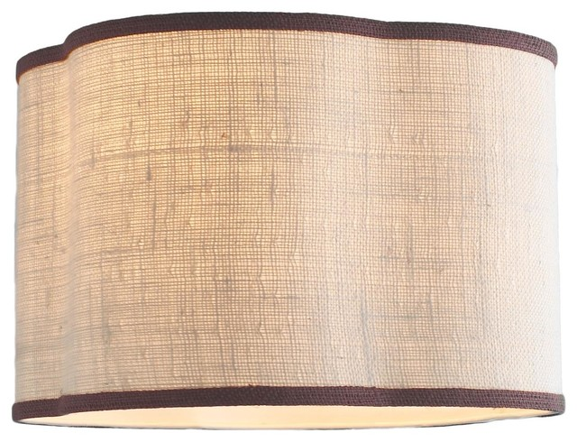16 Inch Quatrefoil Drum Shade 4 Colors Lamp Shades By