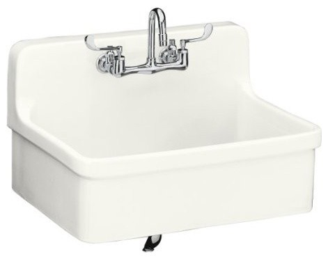 ... Wall-Mount Kitchen Sink, 30