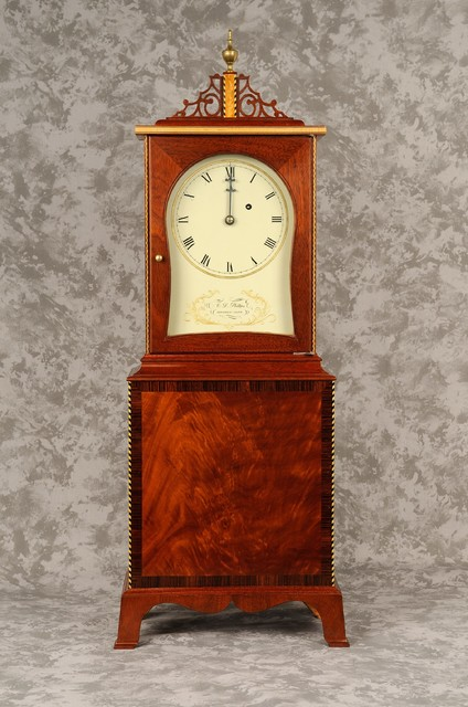 Massachusetts Shelf Clock #1 - Traditional - Clocks - other metro - by CL Phillips Fine Furniture