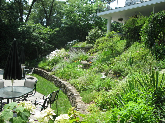 Steep Backyard Ideas : Landscaping Landscaping Ideas For Steep Slopes