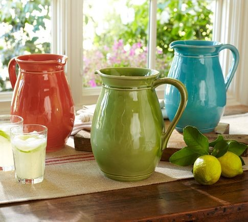 Cambria Pitcher Traditional Pitchers By Pottery Barn