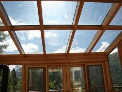 Alaskan sunroom eclectic-dining-room