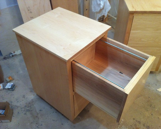 Past Projects - Custom Maple File Cabinet