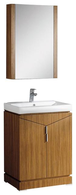 Fresca Elissos Wild Honey Oak Modern Bathroom Vanity modern-bathroom-vanities-and-sink-consoles