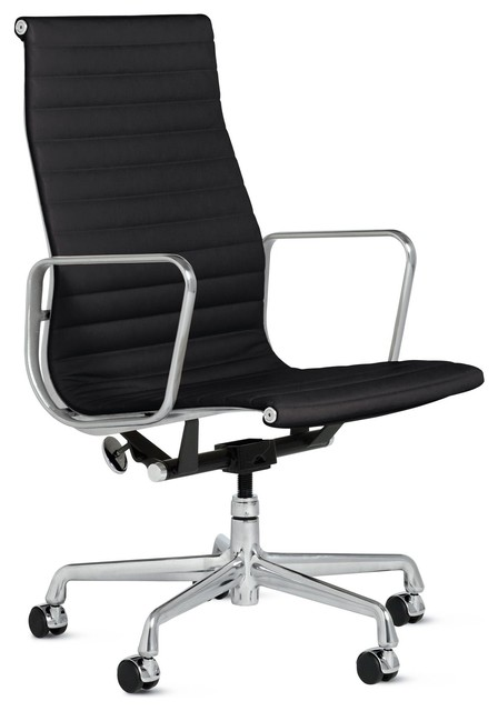 eames aluminum executive chair vicenza leather modern