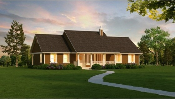 House Plan 18-4512 traditional-exterior-elevation
