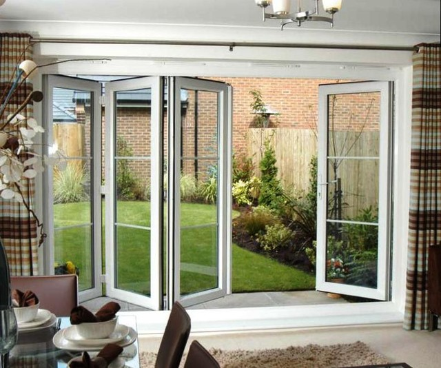 Folding doors contemporary windows and doors for All about doors and windows