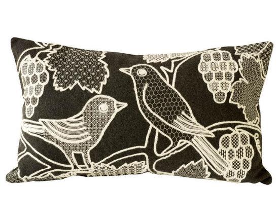 Charlene Mullen - blackbirds pillow -