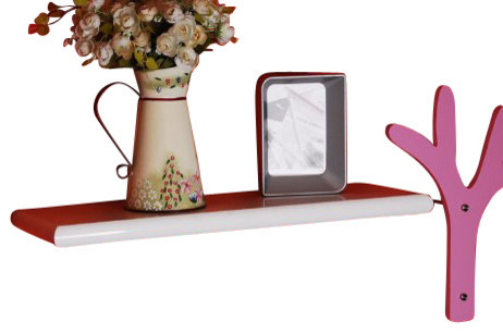 """Round Edged Floating Shelf 24"""" contemporary-display-and-wall-shelves"""