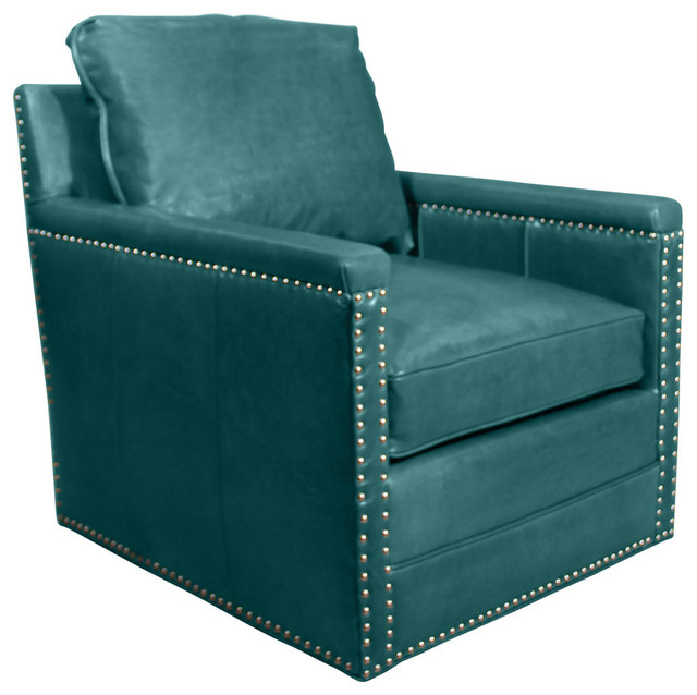 Peacock blue leather swivel chair peacock contemporary task chairs