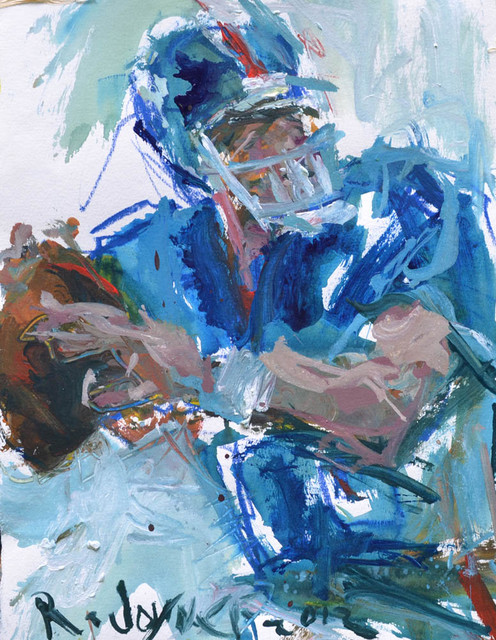 Nfl Football Painting Contemporary Artwork Other