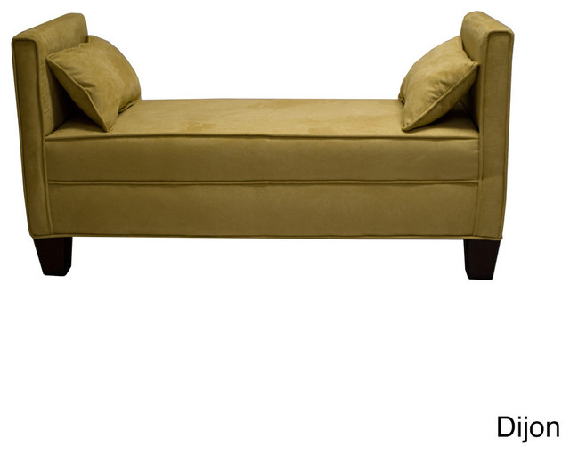 green bench contemporary upholstered benches by