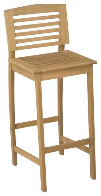 Home Styles Bali Hai Bar Stool in Natural modern-outdoor-bar-stools-and-counter-stools