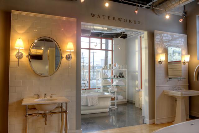 Bathroom vanities salt lake city waterworks products at for Bathroom cabinets utah