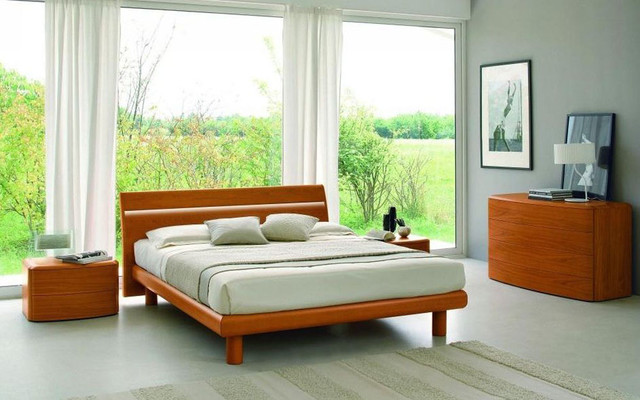 ... Wood Platform Bedroom Sets feat. Light modern-bedroom-furniture-sets
