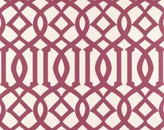 Imperial Trellis Wallpaper traditional-wallpaper