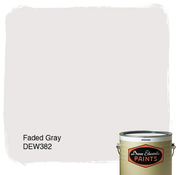 Dunn-Edwards Paints Faded Gray DEW382