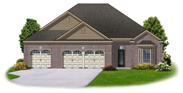 Ressler Design, Inc. traditional-exterior-elevation