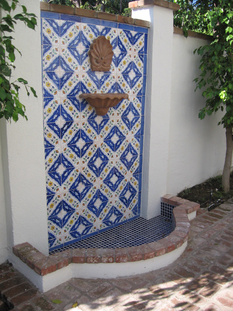 Hand Painted Tile Fountains
