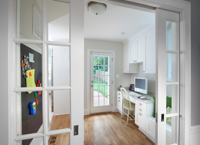Small Chevy Chase Home Gets Big Kitchen traditional