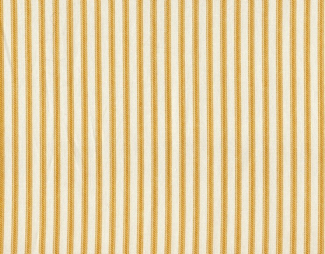 """22"""" Full Bedskirt Tailored Yellow Ticking Stripe traditional-bedskirts"""