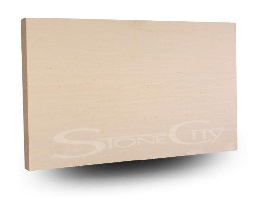 Gascogne Beige Honed Limestone Slab -